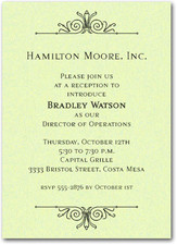 New Hire Announcements | New Hire Welcome Reception Invitations
