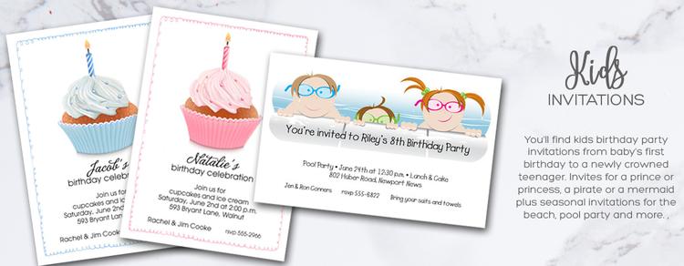 Childrens Invitations Childrens Birthday Party Invitations – Invites Party