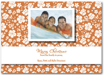 Aloha Greetings - Orange