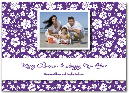 Aloha Greetings - Purple