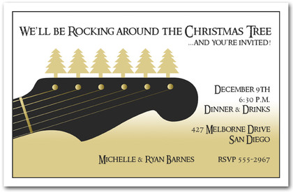 Guitar Rock Christmas
