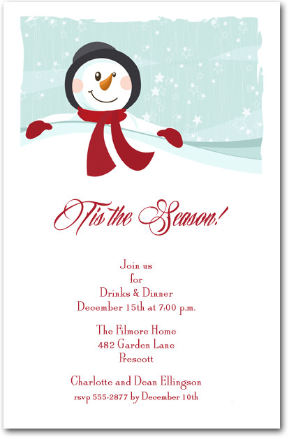 winter party invitations – gangcraft,