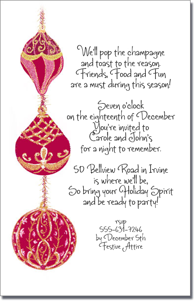 Christmas Party Invitations Wording for your inspiration to make invitation template look beautiful