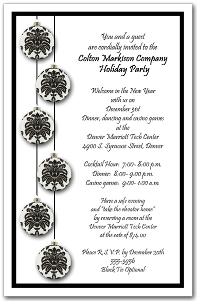 open house invites wording