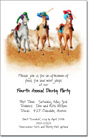 The Finish Horse Racing Invitation, Kentucky Derby Party Invitations