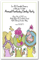 Derby Day Hats Party Invitation