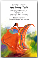 Mexican Folk Dancer Party Invitation