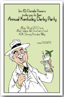 Southern Gentlemen Party Invitation