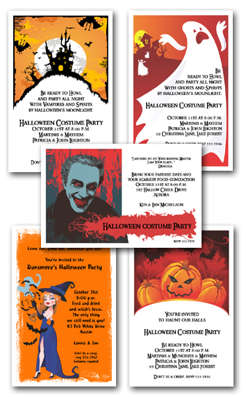 Halloween Invitations Sneak Peek