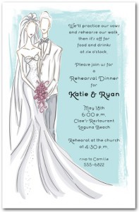Wedding Couple Bridal Shower Invitation