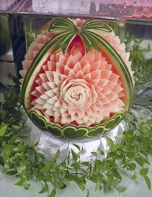Summer Party Watermelon Art