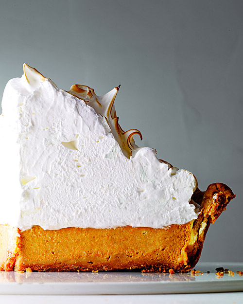 Deep Dish Pumpkin Meringue Pie