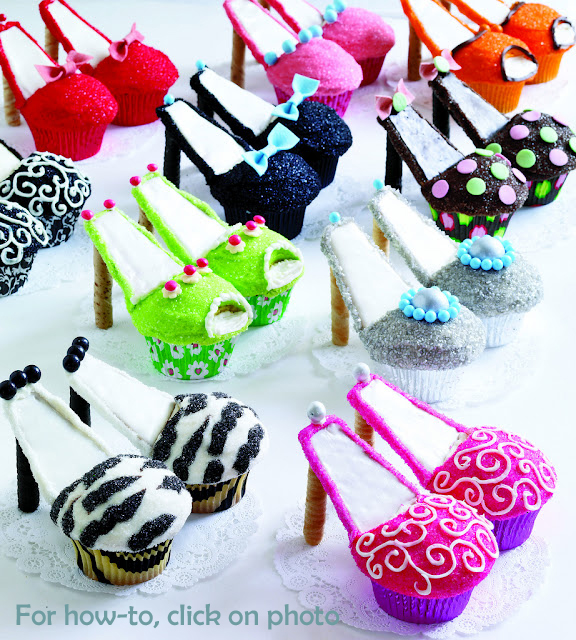 High Heel Shoe Cupcakes Recipe Book