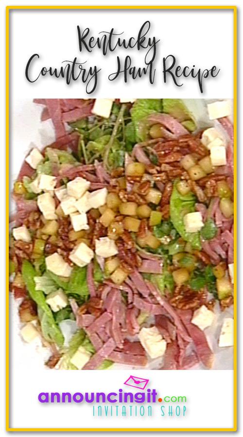 Kentucky Country Ham Salad Recipe | Announcingit.com