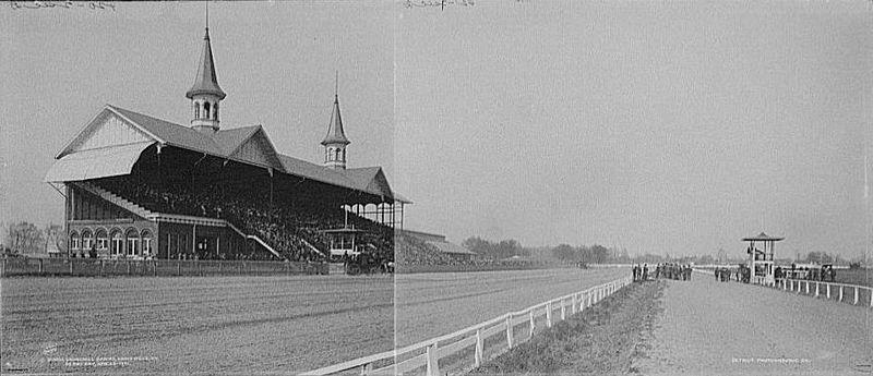 Churchill Downs in 1901