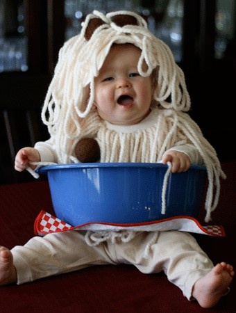 Halloween Spaghetti and Meatballs Costume