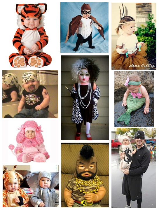 Adorable Baby and Toddler Halloween Costumes