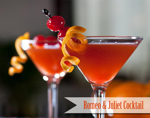 Romeo and Juliet Cocktail