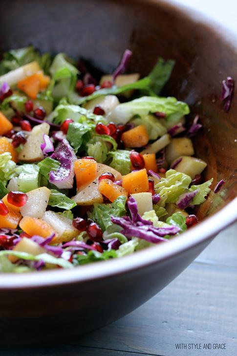 Winter Chop Chop Salad
