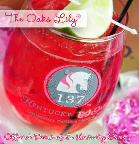 The Oaks Lily - Office Cocktail of the Kentucky Oaks Horse Race