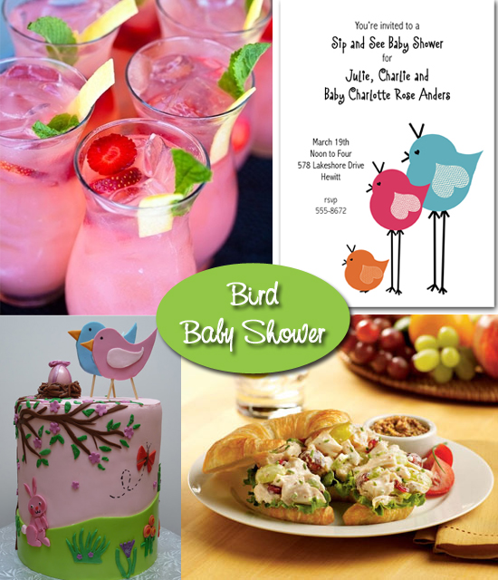 Bird Baby Shower Ideas