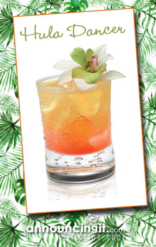 Hula Dancer Cocktail Recipe | Announcingit.com