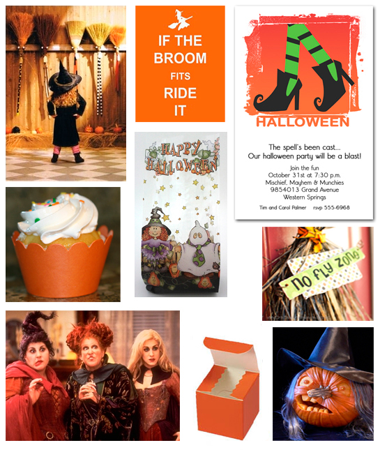 If the Broom Fits - Halloween Witch Ideas