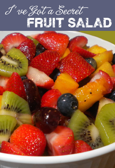 Secret Fruit Salad Recipe