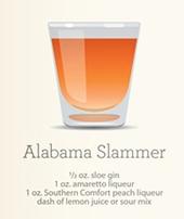 Alabama Slammer Shot