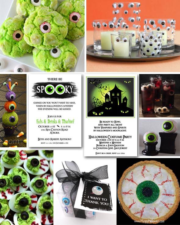 Googly Eyes Halloween Party Theme