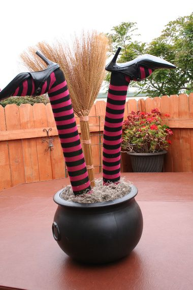 Decorating With Halloween Witch S Legs