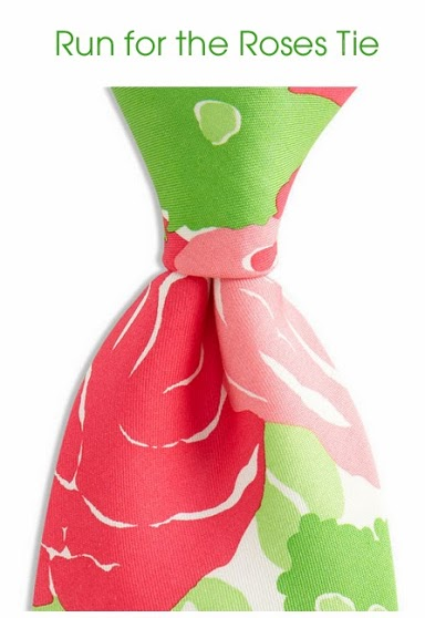 Kentucky Derby Run for the Roses Tie