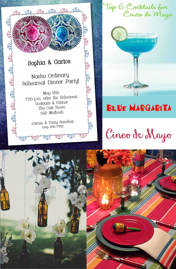 Two Sombreros Cinco de Mayo Party Invitations and Inspiration | Come see our entire collection at Announcingit.com