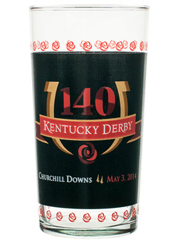 140th Kentucky Derby Glasses