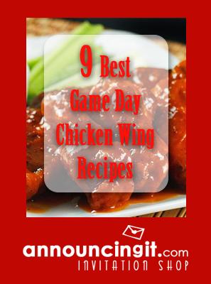 9 Best Chicken Wings Recipes | Announcingit.com