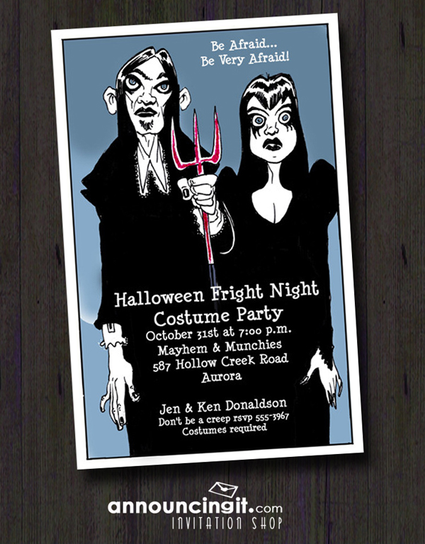 Shop Halloween Party Invitations at Announcingit.com