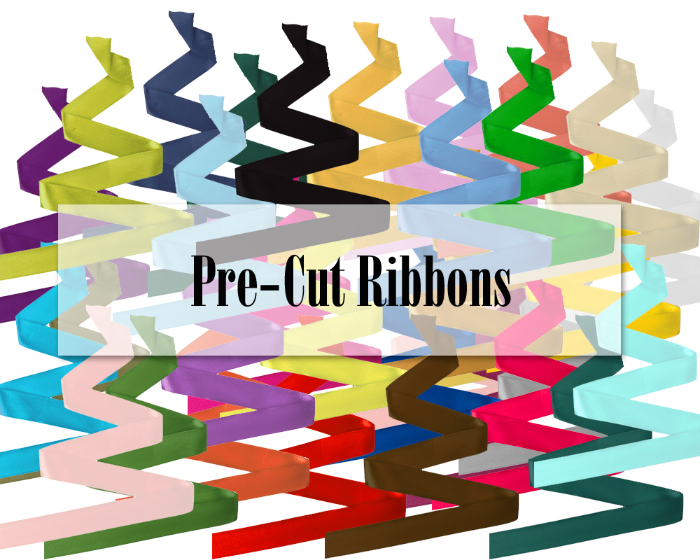 Pre-cut Ribbons for Party Favors and More