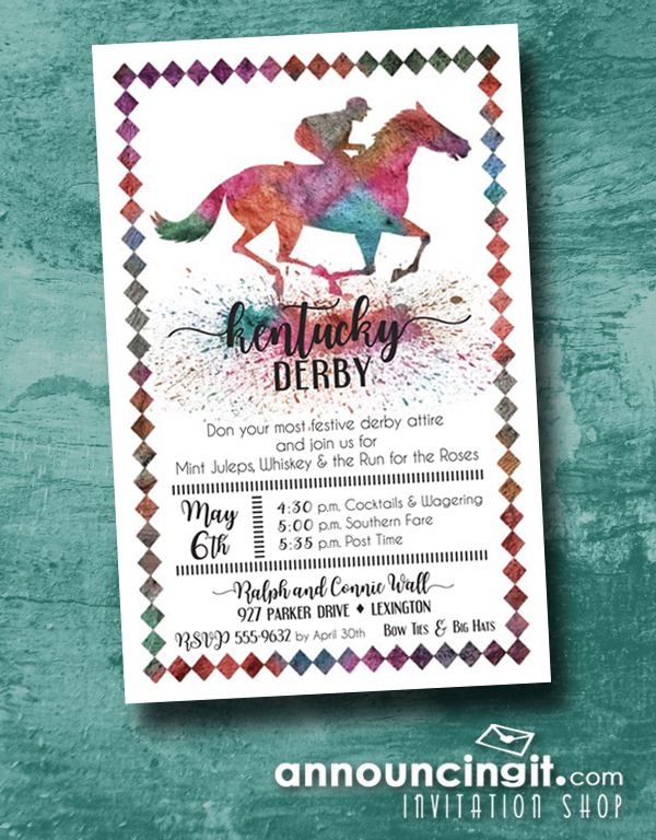 AnnouncingIt Blog – Horse Party Invitations