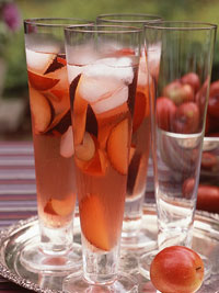 Autumn White Wine Punch