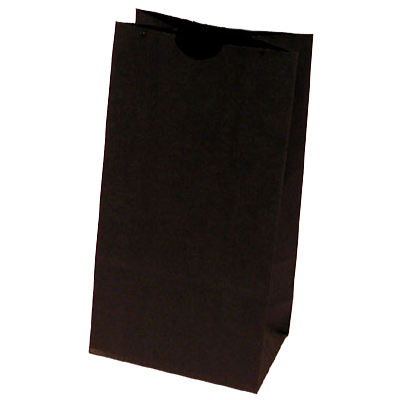 Black Lunch Bags for Holiday Party Favor Bags