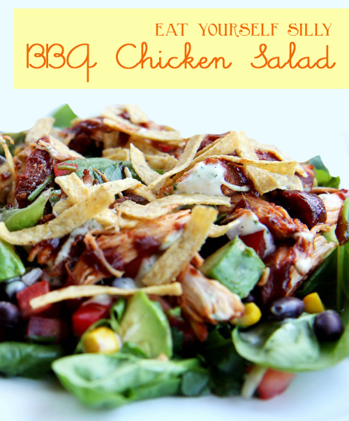 Eat Yourself Silly BBQ Chicken Salad