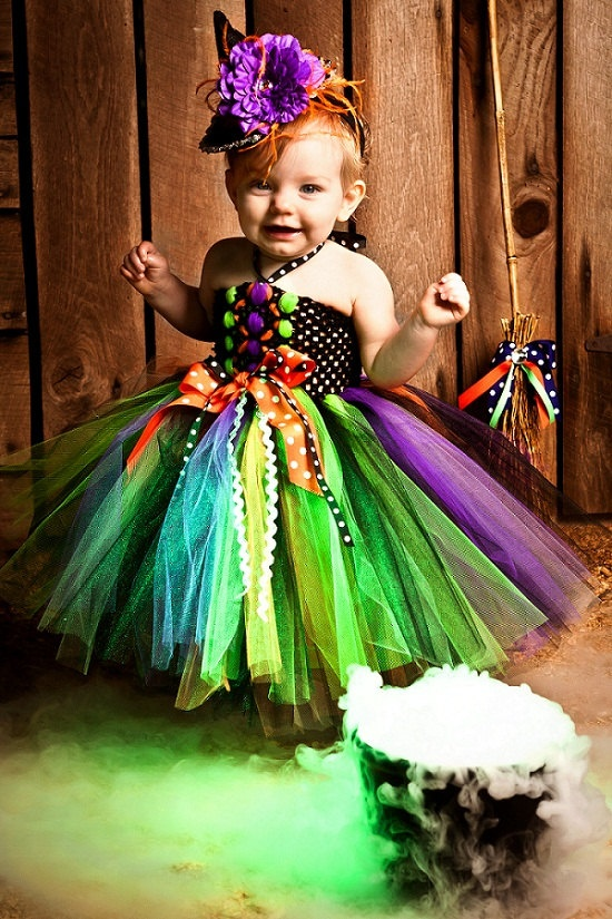 Halloween Baby Witch Costume