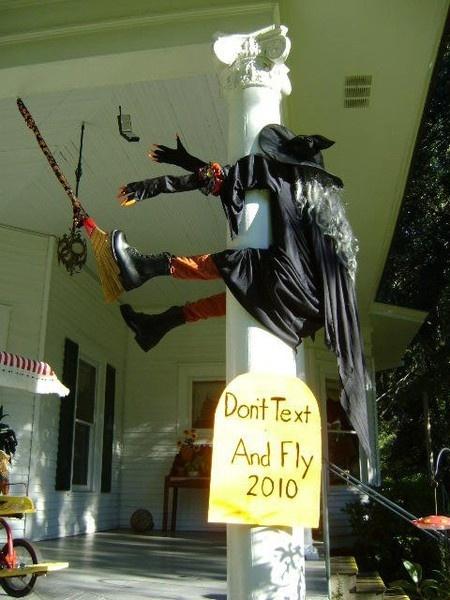 Halloween Witch Crash