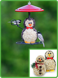 Holiday Bird Feeders