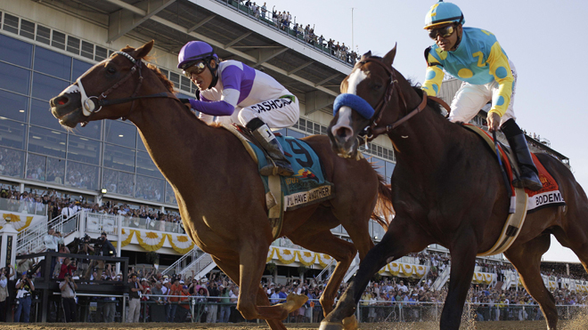 I'll Have Another Wins the 2012 Preakness Stakes
