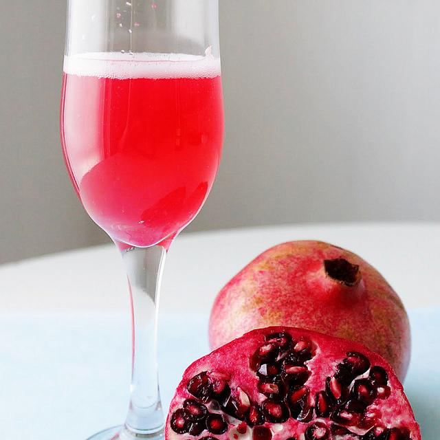 Strawberry Banana Pomegranate Cocktail Recipes — Dishmaps