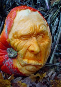 Carved Pumpkin - Rough Day