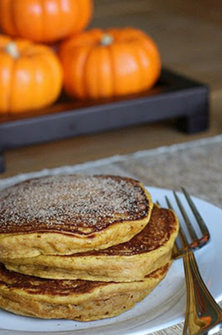 Pumpkin Spiced Pancakes Recipe