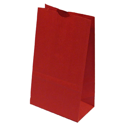 Red Lunch Bags for Holiday Party Favor Bags