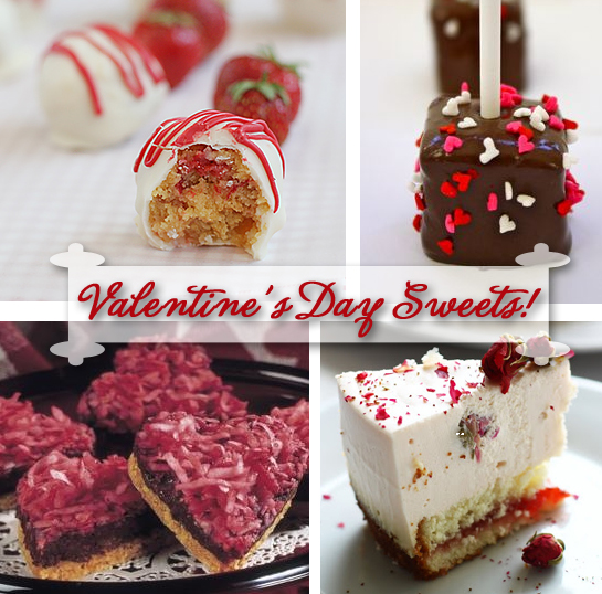 Valentine's Day Sweet Treat Recipes
